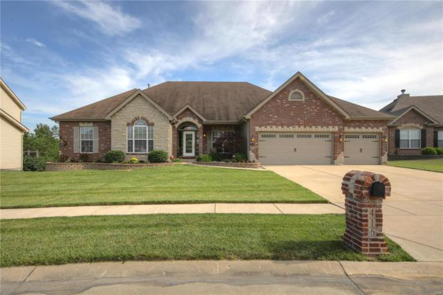 416 Highland Meadows Place, Wentzville, MO 63385 (#18047433) :: Clarity Street Realty