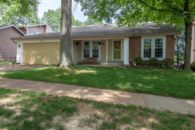 816 Carman Woods Drive, Manchester, MO 63021 (#18047876) :: The Becky O'Neill Power Home Selling Team