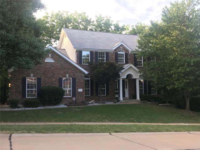 411 Pine Hollow Court, Ballwin, MO 63021 (#18048965) :: Sue Martin Team