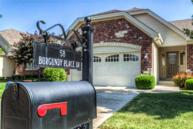 58 Burgundy Place Drive, Dardenne Prairie, MO 63368 (#18049487) :: Sue Martin Team