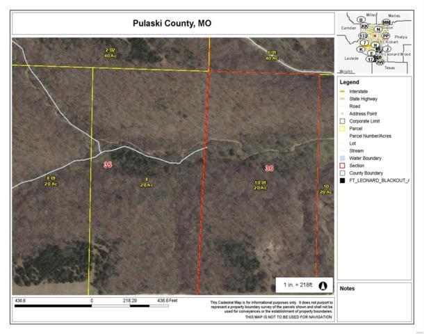 0 Dd-520 Hwy/Bob White Road, Crocker, MO 65452 (#18050001) :: Walker Real Estate Team