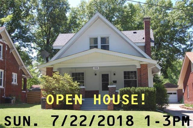 708 Chapman Street, Edwardsville, IL 62025 (#18050535) :: Holden Realty Group - RE/MAX Preferred