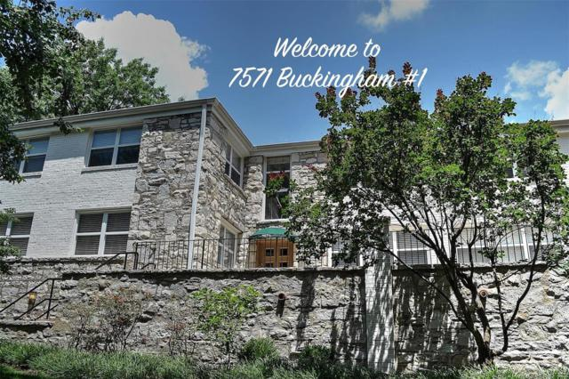 7571 Buckingham #1, St Louis, MO 63105 (#18053508) :: St. Louis Finest Homes Realty Group