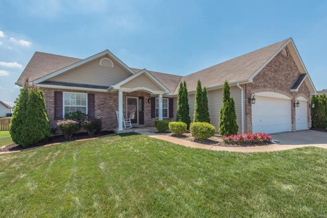 806 Mule Creek Drive, Wentzville, MO 63385 (#18054942) :: Kelly Hager Group | TdD Premier Real Estate