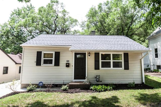65 S Laclede Station, Webster Groves, MO 63119 (#18055302) :: Clarity Street Realty