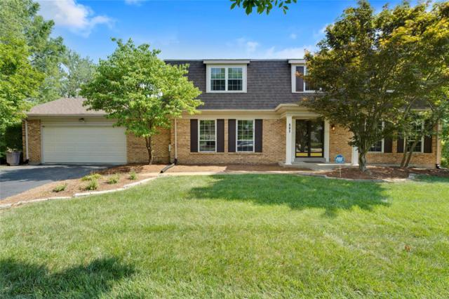 501 Princeway Court, Manchester, MO 63011 (#18055374) :: The Kathy Helbig Group