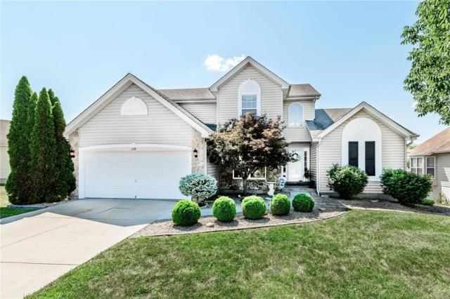 114 Fleur De Lis Dr., Wentzville, MO 63385 (#18055912) :: Kelly Hager Group | TdD Premier Real Estate