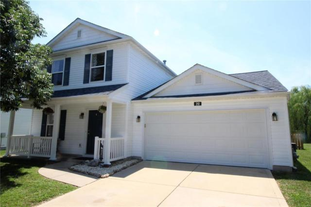 212 Falling Leaf Way, Mascoutah, IL 62258 (#18056669) :: Holden Realty Group - RE/MAX Preferred