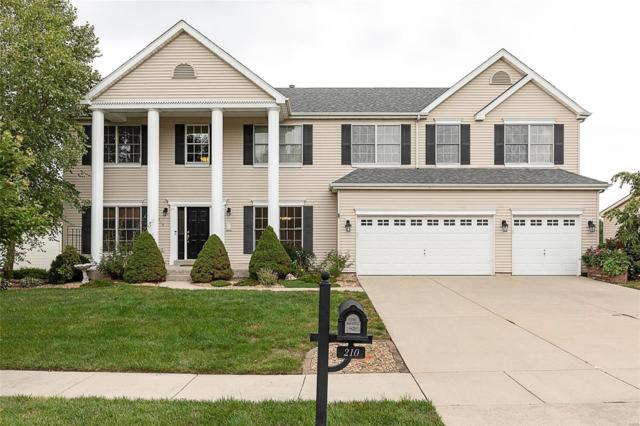 210 Knollhaven Trail, O'Fallon, IL 62269 (#18057284) :: Holden Realty Group - RE/MAX Preferred
