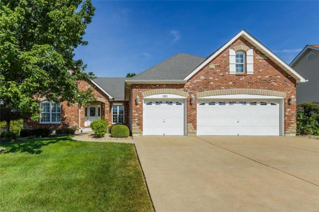 161 Bear Creek Drive, Wentzville, MO 63385 (#18057556) :: Clarity Street Realty