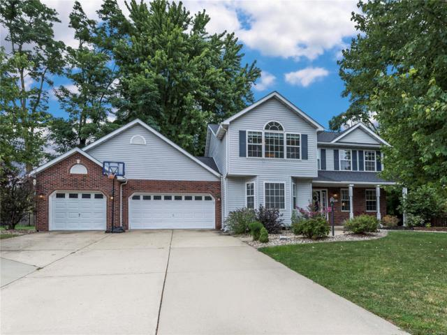 1200 Springbrooke Drive, Edwardsville, IL 62025 (#18064488) :: Holden Realty Group - RE/MAX Preferred