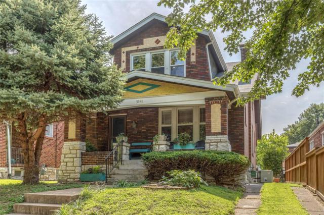 5948 Marwinette Avenue, St Louis, MO 63116 (#18065523) :: Clarity Street Realty