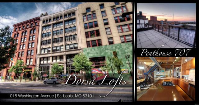 1015 Washington Avenue #707, St Louis, MO 63101 (#18066070) :: The Kathy Helbig Group
