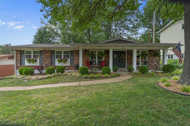 395 Crestbury Drive, Ballwin, MO 63011 (#18067672) :: PalmerHouse Properties LLC