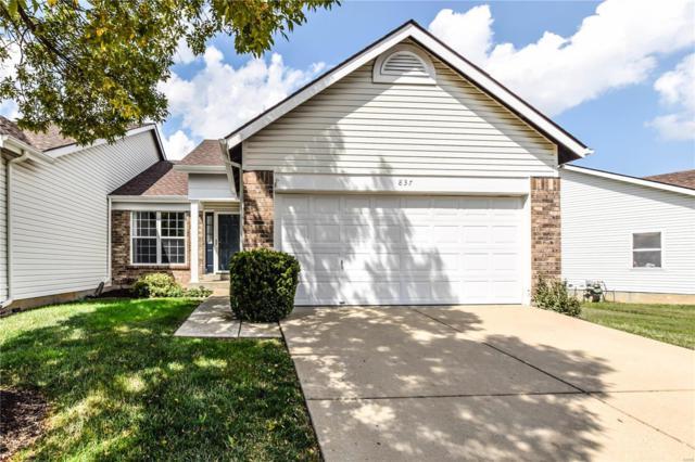 837 Whispering Village Circle, Ballwin, MO 63021 (#18071128) :: PalmerHouse Properties LLC
