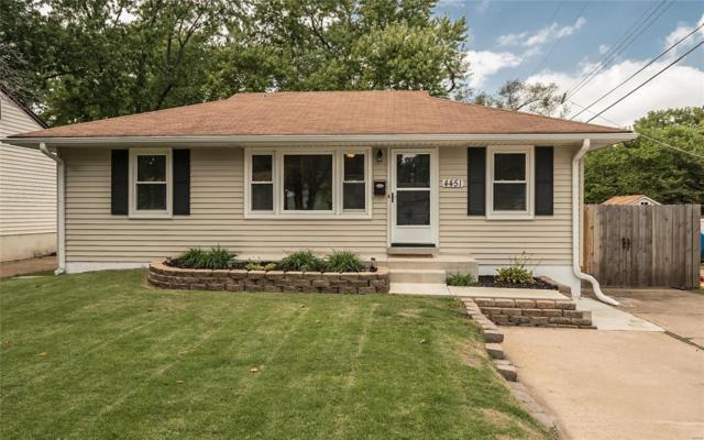 4451 Lindscott Avenue, St Louis, MO 63134 (#18072090) :: Walker Real Estate Team