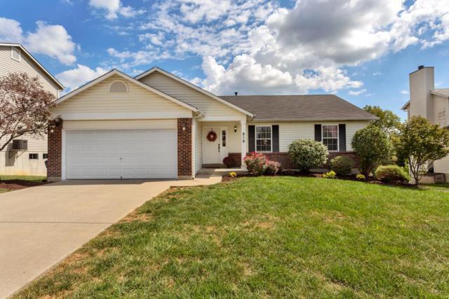 818 Whisper Creek Court, Wentzville, MO 63385 (#18073767) :: PalmerHouse Properties LLC