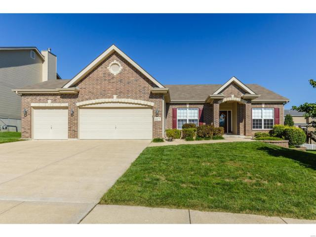 617 Derek Drive, Wentzville, MO 63385 (#18074018) :: Kelly Hager Group | TdD Premier Real Estate