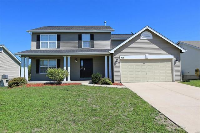 438 Marble Fields Drive, Wentzville, MO 63385 (#18074028) :: Kelly Hager Group | TdD Premier Real Estate