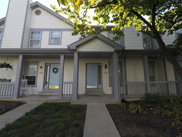 1488 Whispering Creek, Ballwin, MO 63021 (#18074976) :: Kelly Hager Group   TdD Premier Real Estate