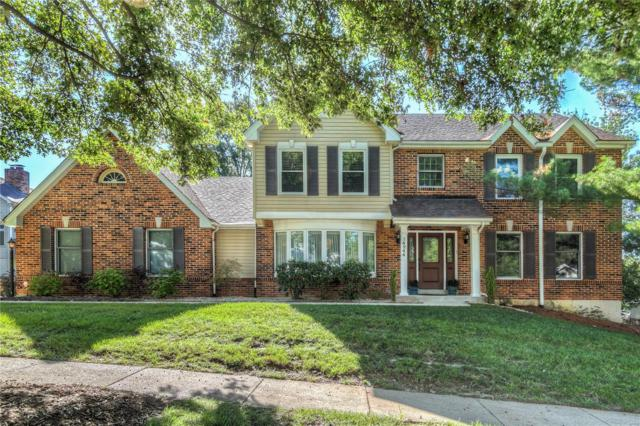 14244 Cobble Hill Court, Chesterfield, MO 63017 (#18075221) :: The Kathy Helbig Group