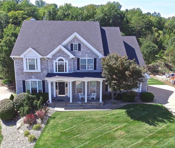 518 Overlook Terrace, Eureka, MO 63025 (#18075557) :: The Becky O'Neill Power Home Selling Team