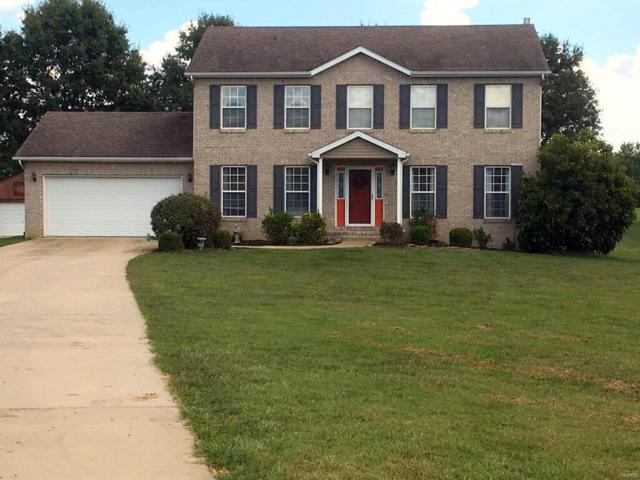 160 N Meadow Ridge, Edwardsville, IL 62025 (#18075869) :: Fusion Realty, LLC