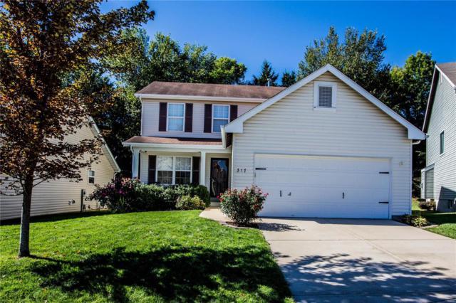 317 Hunters Heights, Eureka, MO 63025 (#18081226) :: The Becky O'Neill Power Home Selling Team