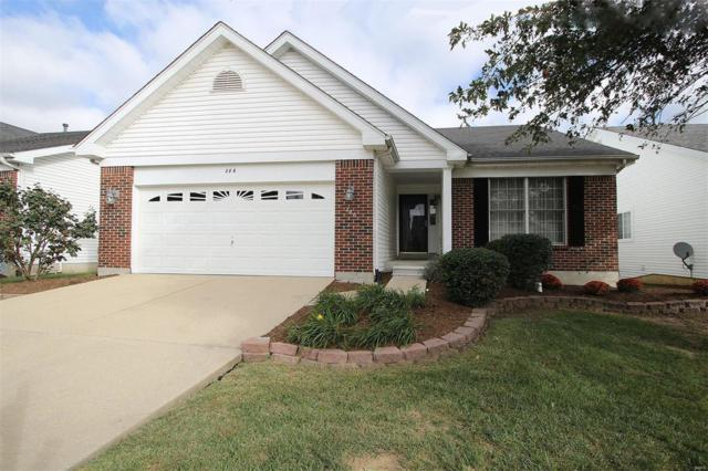 286 Red Clover Circle, O'Fallon, IL 62269 (#18082049) :: Holden Realty Group - RE/MAX Preferred