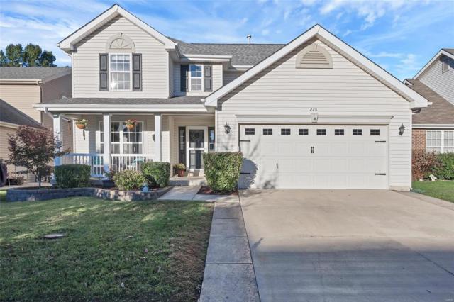 228 Spring Borough Drive, O'Fallon, MO 63368 (#18083520) :: Clarity Street Realty