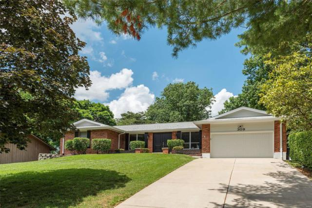 309 Morewood Drive, Manchester, MO 63011 (#18083940) :: The Kathy Helbig Group