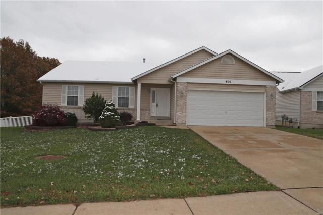 406 Honeysuckle Creek Drive, Wentzville, MO 63385 (#18088392) :: Barrett Realty Group
