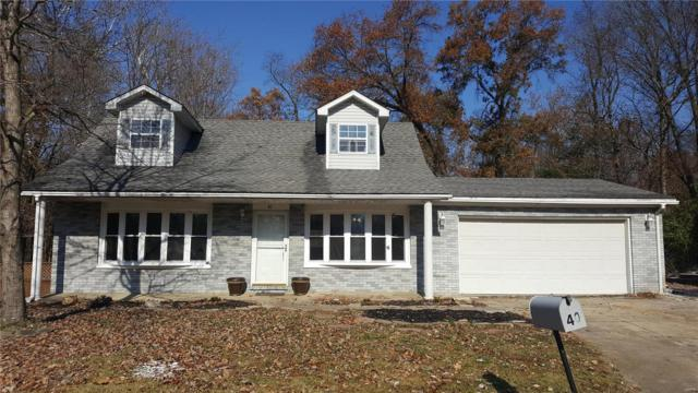 40 Hickory Hill Lane, Glen Carbon, IL 62034 (#18089923) :: Fusion Realty, LLC