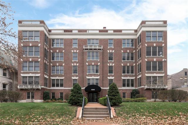 4540 Lindell Boulevard #404, St Louis, MO 63108 (#18093735) :: Holden Realty Group - RE/MAX Preferred