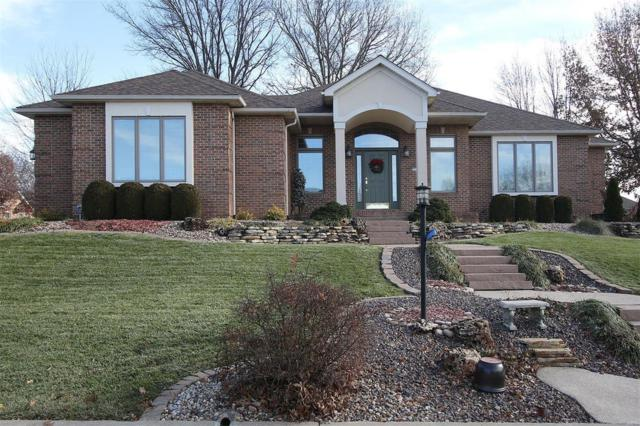 5311 Whispering Woods Drive, Godfrey, IL 62035 (#18094587) :: Kelly Hager Group | TdD Premier Real Estate