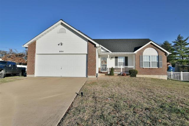 804 Burns Court, Festus, MO 63028 (#18094843) :: Clarity Street Realty