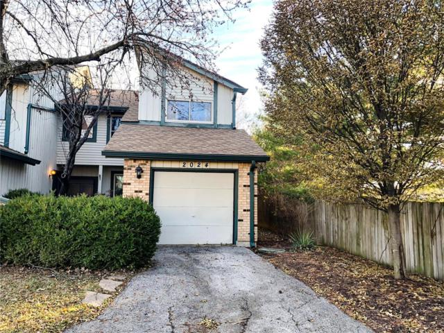 2024 Silent Spring Drive, Maryland Heights, MO 63043 (#18095862) :: Kelly Hager Group | TdD Premier Real Estate