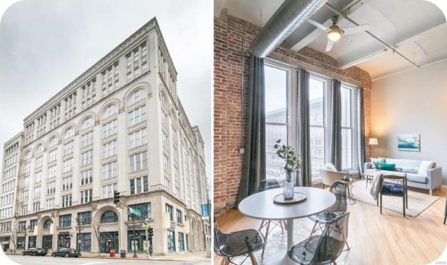 1136 Washington Avenue #404, St Louis, MO 63101 (#19002650) :: Kelly Hager Group   TdD Premier Real Estate