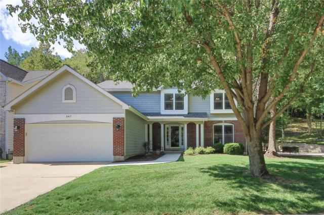 347 Buckhurst Drive, Ballwin, MO 63021 (#19004444) :: The Kathy Helbig Group