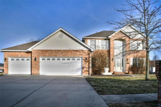 1128 Hunters Trail, Mascoutah, IL 62258 (#19008035) :: Fusion Realty, LLC