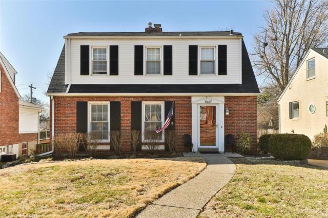 1927 Parkridge Avenue, Brentwood, MO 63144 (#19017353) :: RE/MAX Vision