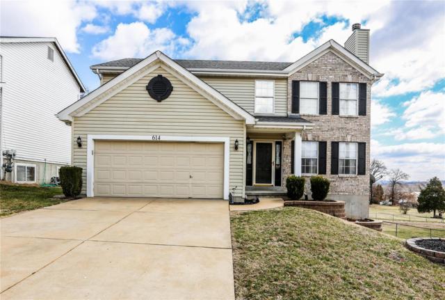 614 Top Notch, Eureka, MO 63025 (#19018582) :: Ryan Miller Homes