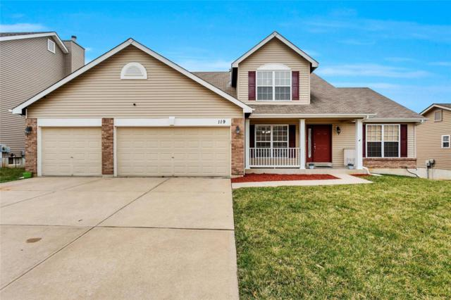 119 Prairie Bluffs Drive, Foristell, MO 63348 (#19018822) :: Ryan Miller Homes
