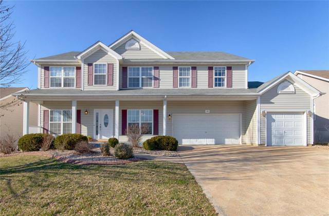 423 Valley Oaks Drive, Wentzville, MO 63385 (#19018970) :: Ryan Miller Homes