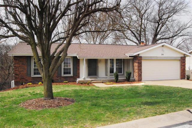 54 W Oak Hill Drive, Ellisville, MO 63021 (#19019830) :: PalmerHouse Properties LLC
