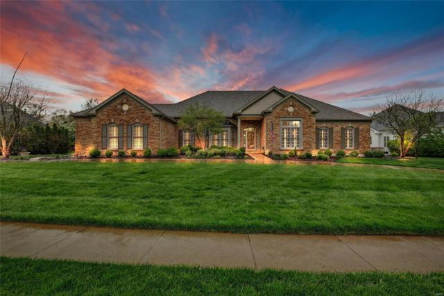 14848 Brook Hill Drive, Chesterfield, MO 63017 (#19027494) :: St. Louis Finest Homes Realty Group