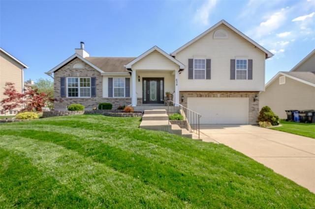 634 Stone Bend Trail, Wentzville, MO 63385 (#19027702) :: Barrett Realty Group