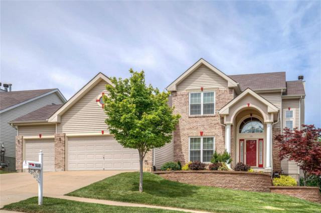 535 Vista Hills Court, Eureka, MO 63025 (#19028104) :: The Becky O'Neill Power Home Selling Team
