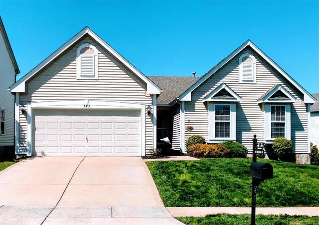 343 Greenshire Lane 37B, Dardenne Prairie, MO 63368 (#19028523) :: RE/MAX Vision