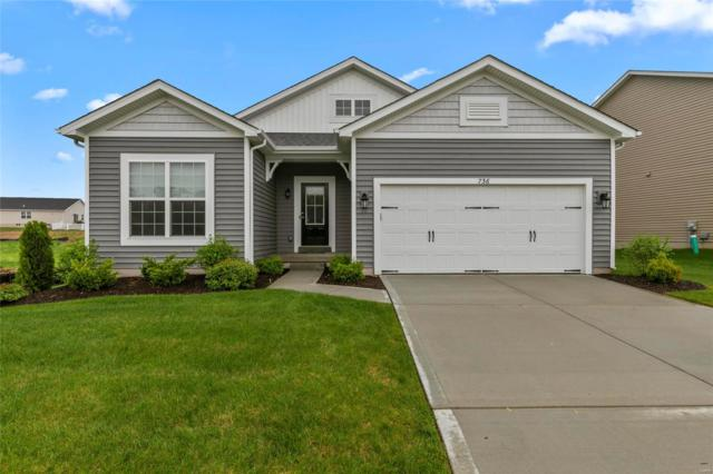 736 Derby Way Drive, Wentzville, MO 63385 (#19032072) :: The Kathy Helbig Group